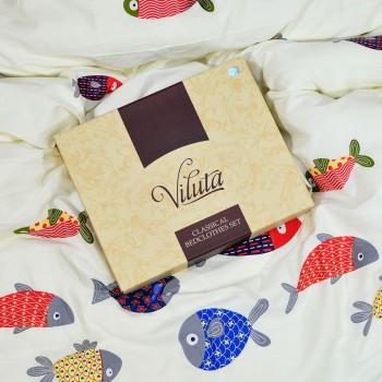 Постельное белье Вилюта (Viluta) Сатин Twill 403 (Подростковый)