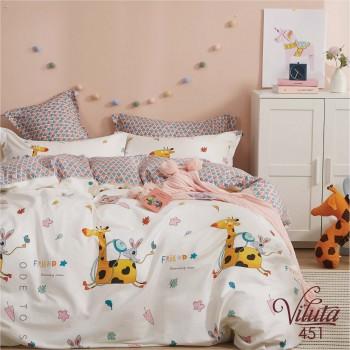 Постельное белье Вилюта (Viluta) Сатин Twill 451 (Подростковый)