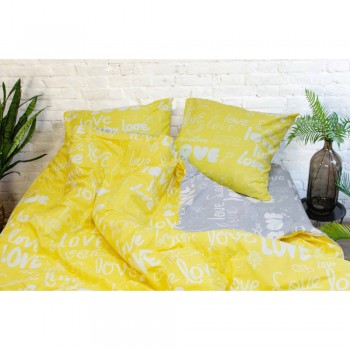 Постельное белье Вилюта ранфорс 17148 желтый