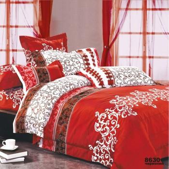 Постельное белье Вилюта ранфорс 8630 (Красный) (Полуторный)