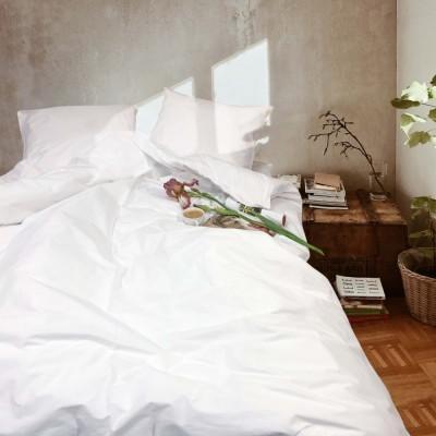 Постельное белье Вилюта ранфорс Белый (Полуторный)