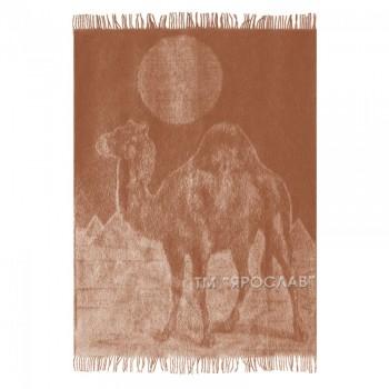 Плед из верблюжей шерсти ТМ Ярослав