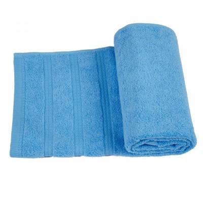 Полотенце махровое Ярослав Софт твист голубое