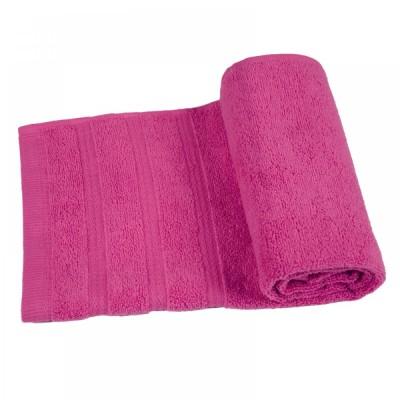 Полотенце махровое Ярослав Софт Твист Темно - розовое (40*70см)