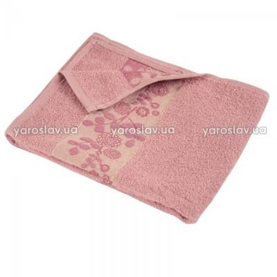 """Полотенце махровое """"Азалия"""" бледно-розовое"""