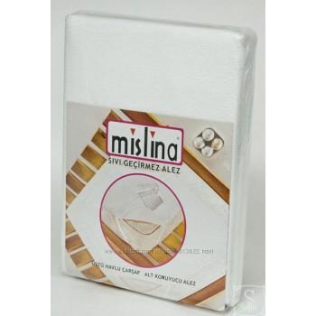 Непромокаемый наматрасник с резинками по углам ТМ Mislina