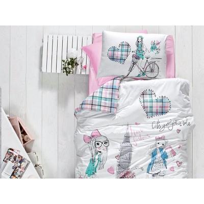 Комплект постельного белья ранфорс Ecem ТМ First Choice