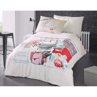Комплект постельного белья ранфорс Elodie