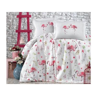 Комплект постельного белья подростковый ранфорс Mina