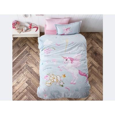 Комплект постельного белья подростковый ранфорс Pegasus