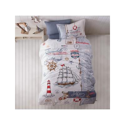 Комплект постельного белья подростковый ранфорс Saillife